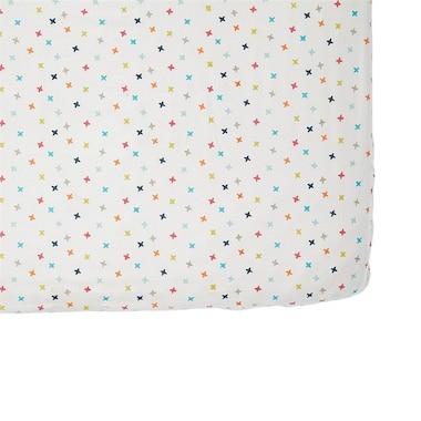 Pehr Crib Sheet Jacks Rainbow