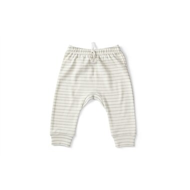 STRIPES AWAY HAREM PANT PEBBLE 0-3 MONTHS