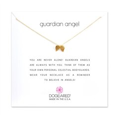 GUARDIAN ANGEL NECKLACE - GOLD