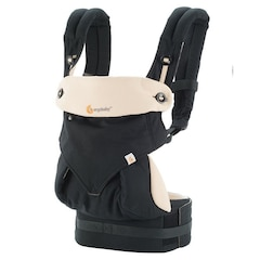 Ergobaby Four-Position 360 Baby Carrier, Black/Camel