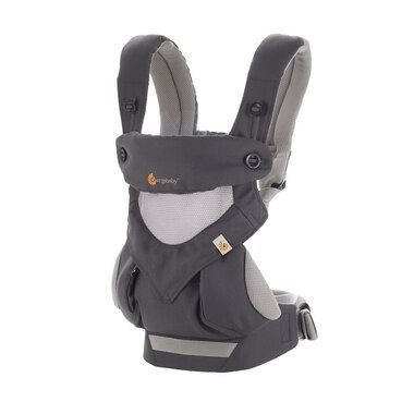 Ergobaby Performance Baby Carrier 360 Cool Air, Carbon Grey