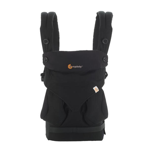 Ergobaby Four-Position 360 Baby Carrier, Pure Black