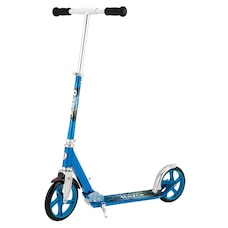 Razor A5 Lux Foldable Double Wheel Kick Scooter with Kickstand Blue