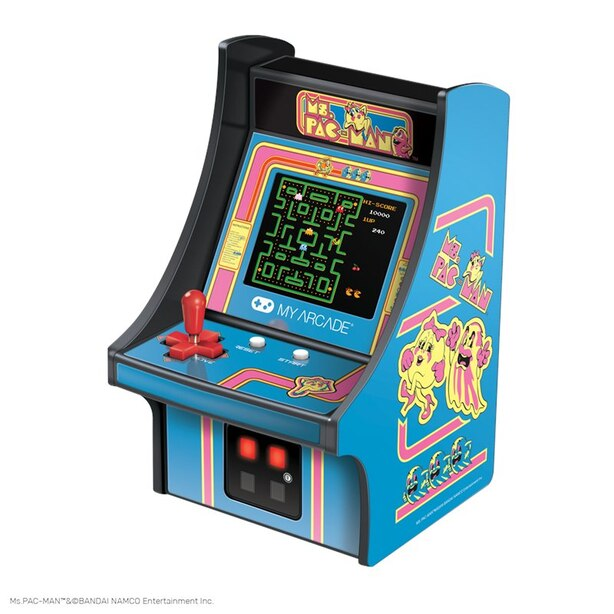My Arcade® Micro Player™ Collectible Ms. PAC-MAN