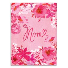 Paper E. Clips Mother's Day Card Pink Floral