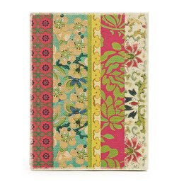 Deconstructed Bohemian-Vintage Floral Journal