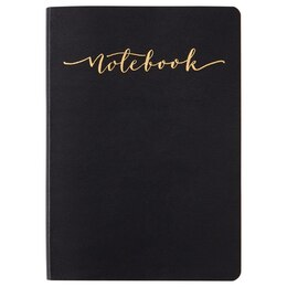 Studio Oh! Softcover Large Notebook - Black