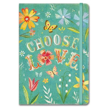 Deconstructed Choose Love Compact Journal
