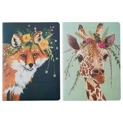 Notebooks - Fox & Giraffe - Set of 2