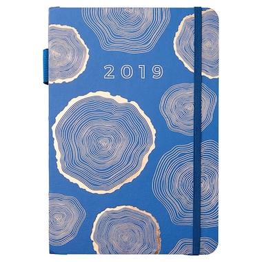 2019 12-Month Coptic Bound Planner Tree Ring