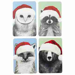 Holiday Boxed Cards Notecard Set Foresters