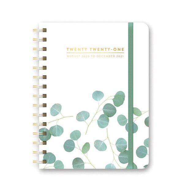 2020-2021 17-Month Planner Eucalyptus