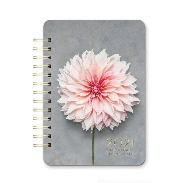 August 2020 - December 2021 Dahlia Planner