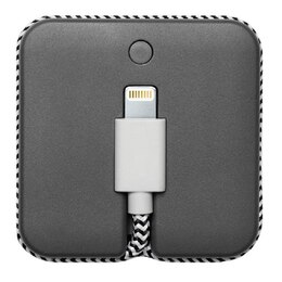 Native Union JUMP Cable & Portable Battery Lightning - Grey