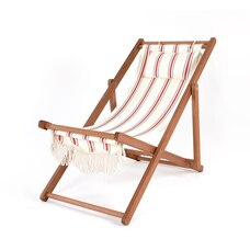 BUSINESS & PLEASURE CO. SLING CHAIR FRENCH STRIPE
