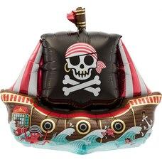 """14"""" Pirate Ship Balloon"""