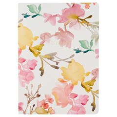 Paperback Notebook - Watercolour Floral
