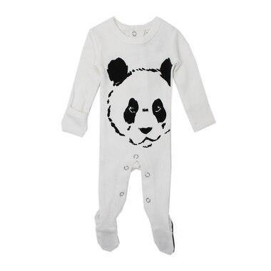 1266720a2e L ovedbaby® Sleeper 100% Organic Cotton Panda White Preemie to ...