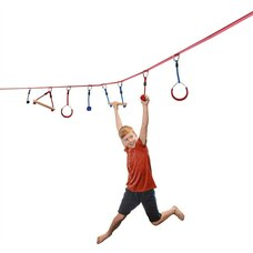 Ninja Line 30 ft. Intro Kit with 7 Hanging Obstacles