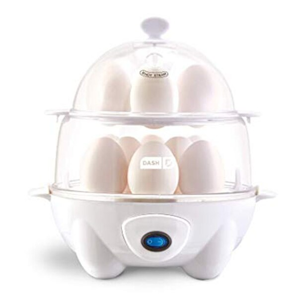 DASH DELUXE EGG COOKER - WHITE