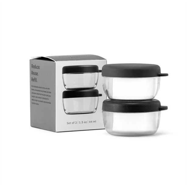 W&P PORTER DRESSING CONTAINERS SET OF 2