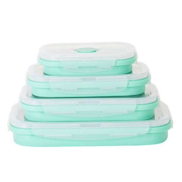 DASH COLLAPSIBLE CONTAINERS - BLUE, SET OF 4
