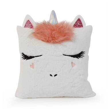 OMG! Pillow Unicorn with Mohawk