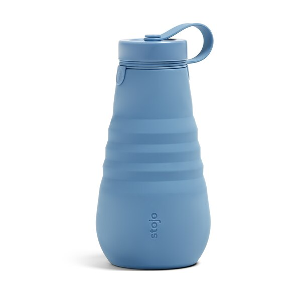 STOJO COLLAPSIBLE WATER BOTTLE STEEL 20 OZ