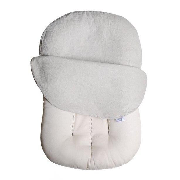 Snuggle Me Organic Sensory Lounger Oat Linen