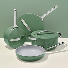 CARAWAY CERAMIC COOKWARE SET SAGE