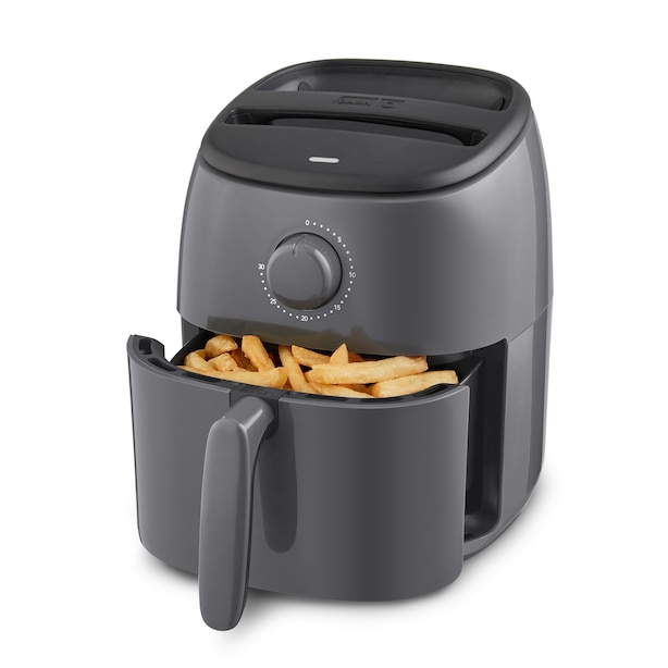 DASH TASTI-CRISP™ EXPRESS 2.6L AIR FRYER GREY