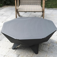 Iron Embers 3' Polygon Bowl Fire Pit & Table Top