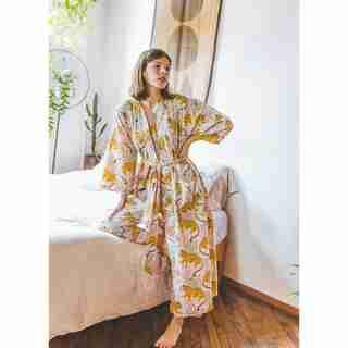 Bagheera Robe,  Blush Small/Medium