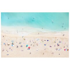 "Gray Malin Waikiki Beach Fine Art Print – 11.5"" x 17"""