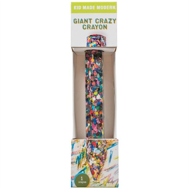 KID MADE MODERN GIANT CRAZY CRAYON 1CT - ENGLISH ONLY