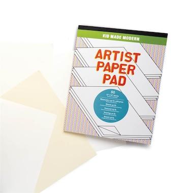 Kid Made Modern - Artist Paper Pad - Mixed Paper