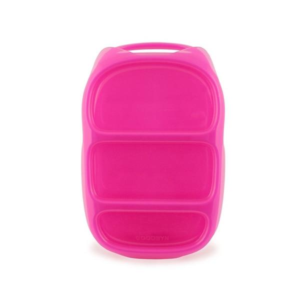 Goodbyn® Bynto™ 3-Section Lunchbox Pink
