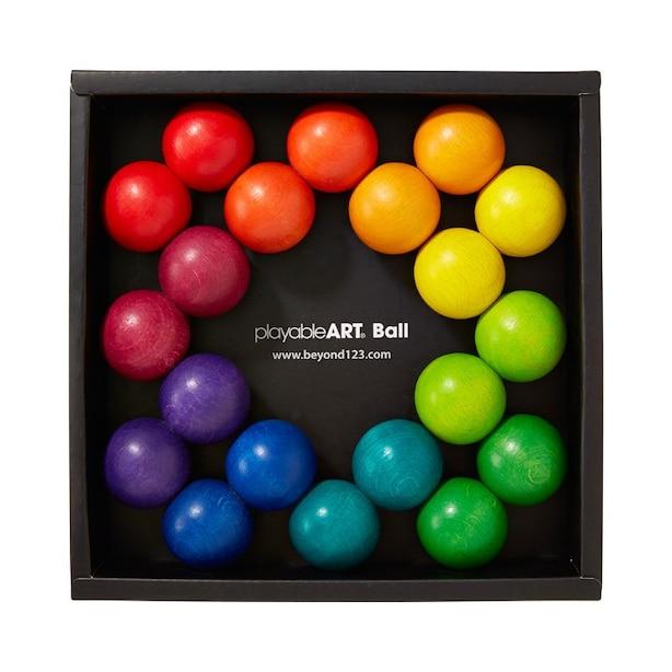 Playable Rainbow Art Balls