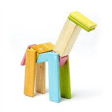 Tegu 14-piece Magnetic Wooden Blocks - Tints
