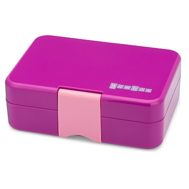 Yumbox® 3-Section MiniSnack Lunchbox Bijoux Purple
