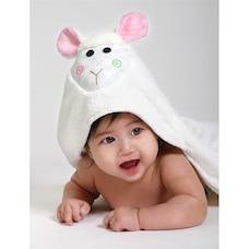 BABY TOWEL, LOLA THE LAMB