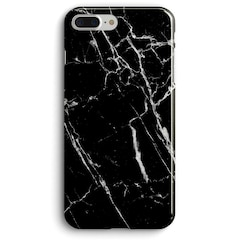RECOVER PRINTED CASE FOR IPHONE 8/7/6 PLUS - BLACK MARBLE