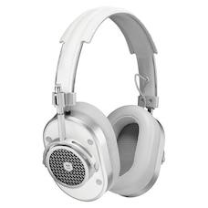 Master & Dynamic MH40 Over-Ear Headphones - Silver/White