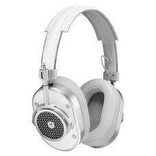 Casque supra-auriculaire MH40 Master & Dynamic - Argent/Blanc