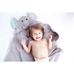 BABY TOWEL, ELLE THE ELEPHANT