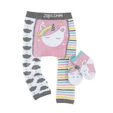 LEGGINGS & SOCK SET, ALLIE UNICORN 12-18M