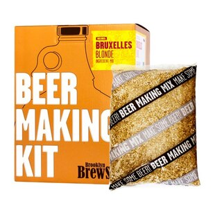 Brooklyn Brew Shop Beer Making Kit - Bruxelles Blonde