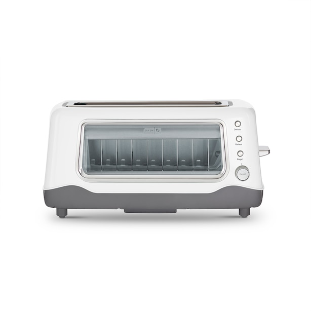 DASH CLEARVIEW TOASTER WHITE