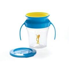 Wow Baby® Wow Cup® 7oz (Bleu avec Jaune)