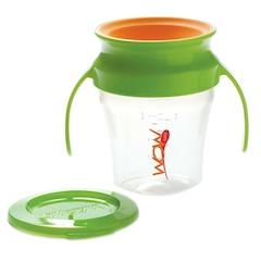 Wow Baby® Wow Cup® 7oz (Vert avec Orange)